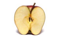 яблоко половинное Стоковые Изображения RF