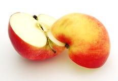 яблоко половинное Стоковая Фотография RF