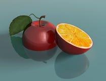 яблоко проектированное genetically Стоковая Фотография