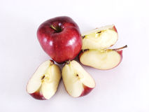 яблоко распределяет все Стоковые Изображения