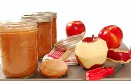 яблоко свеже сохранило соус Стоковое фото RF