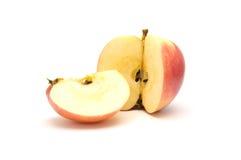 яблоко свой ломтик Стоковые Фото