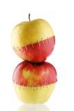 яблоко творческое стоковые изображения rf