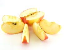 Яблоко трубы красное с лижет Стоковые Фотографии RF