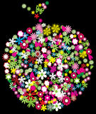 яблоко флористическое бесплатная иллюстрация