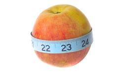 яблоко fuji органический стоковое изображение