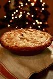 Яблочный пирог Смита бабушки для рождества Стоковое Фото