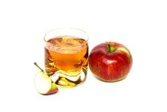 яблочный сок Стоковое Фото