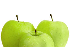 3 яблока Стоковые Изображения RF