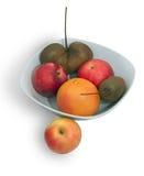 Яблоки, грейпфрут и киви Стоковое фото RF