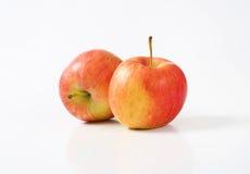 яблоки изолировали зрелую белизну 2 Стоковое фото RF