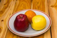 яблоки красные Стоковое Фото