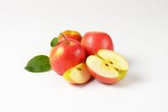 яблоки отрезали все Стоковое Фото