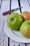 яблоки свежие Стоковые Изображения