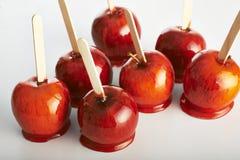 Яблоки тянучки Стоковое Изображение