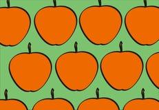 яблоко безшовное Иллюстрация штока