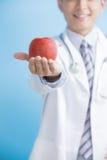 Яблоко выставки доктора к вам Стоковая Фотография
