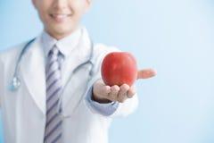 Яблоко выставки доктора к вам Стоковое Изображение RF