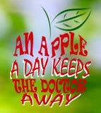 Яблоко день… Стоковое Изображение RF