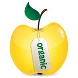 Яблоко желтого цвета Бесплатная Иллюстрация