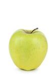 яблоко - зеленый цвет изолированная белизна Стоковое Изображение