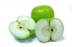 Яблоко изолировало на белизне Стоковая Фотография RF