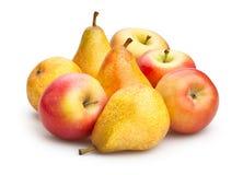 Яблоко и груша Стоковые Изображения RF