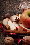 Яблоко и специи Стоковые Изображения