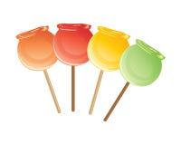 Яблоко конфеты Стоковое Изображение RF