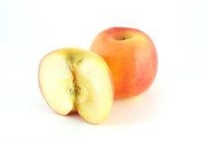 Яблоко красного цвета трубы Стоковое Фото