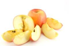 Яблоко красного цвета трубы Стоковая Фотография