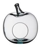 Яблоко сформировало стеклянный шар Стоковые Изображения RF