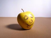 яблоко счастливое Стоковая Фотография RF