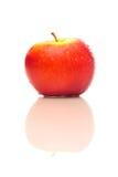 Яблоко с отражением Стоковая Фотография