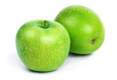 яблоко fruits зеленый цвет Стоковое Фото