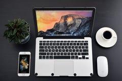 Яблоко MacBook Pro Стоковые Изображения