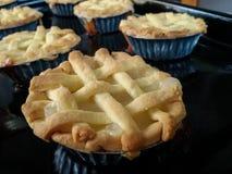 Яблочные пироги стоковые изображения
