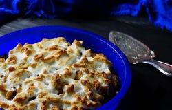 Яблочный пирог с гайками Стоковое фото RF