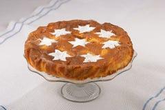 Яблочный пирог с сахаром Стоковое фото RF