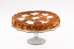 Яблочный пирог с сахаром Стоковое Фото