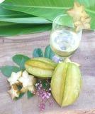 Яблочный сок звезды Стоковые Фото