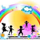 ягнит радуга Стоковая Фотография RF