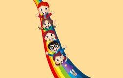 ягнит радуга Стоковое Изображение