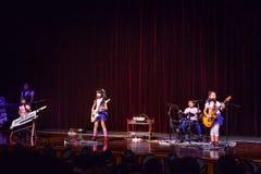 Ягнит рок-группа Стоковые Изображения