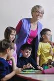 ягнит preschool стоковое изображение