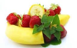 ягоды банана стоковые изображения