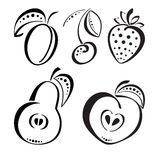 Ягоды и плодоовощи Стоковая Фотография