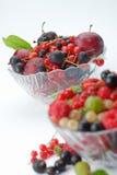 ягоды bowl splitted Стоковые Изображения
