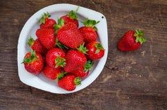 ягода детализирует клубнику красного цвета природы Стоковые Изображения