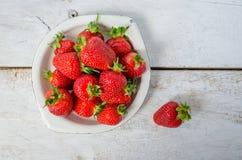 ягода детализирует клубнику красного цвета природы Стоковая Фотография RF